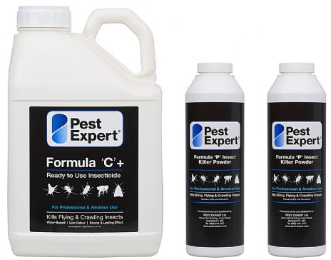 Pest Expert Woodlice Killer Kit for House